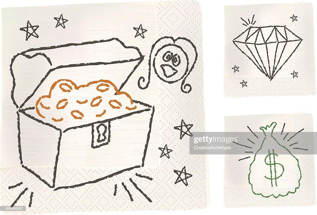Napkin Sketch - Riches