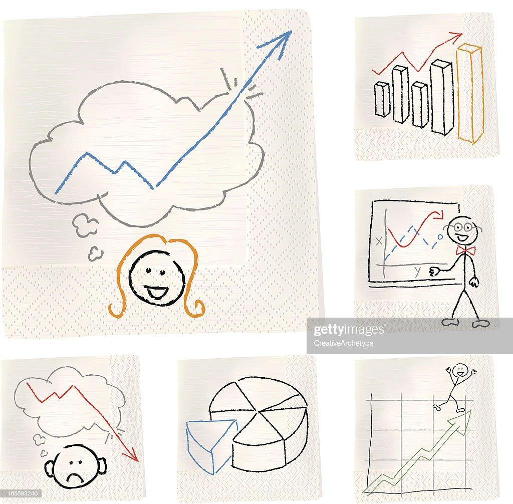 Napkin sketches - Charts