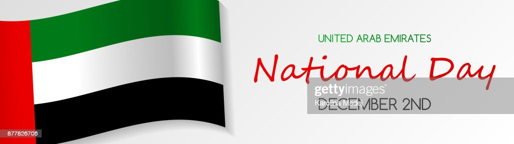 National day of uae card with greeting vector vector art getty images national day of uae card with greeting vector m4hsunfo