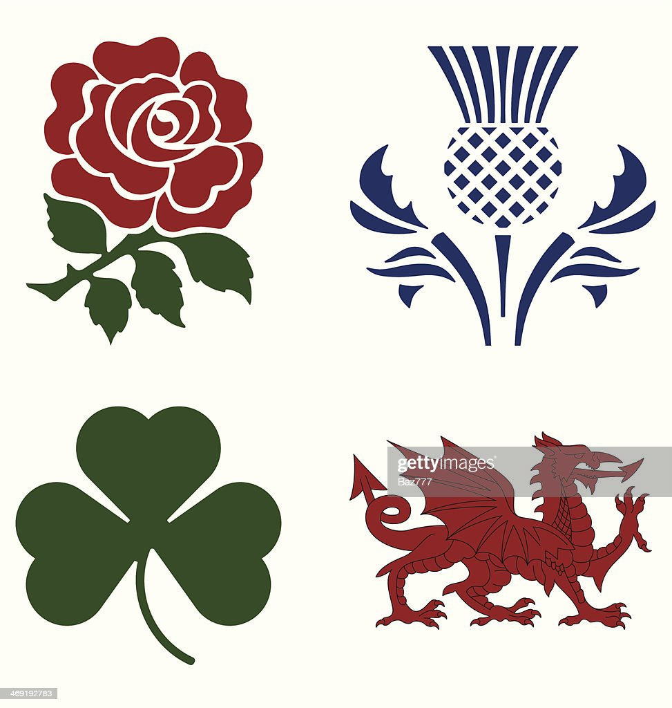 UK national emblems