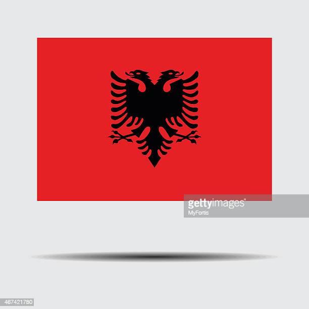 Bandiera nazionale di Albania