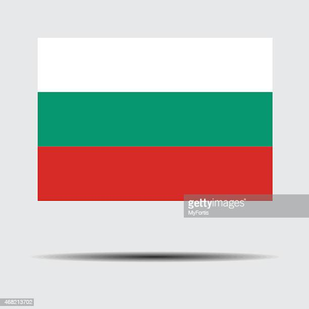 national flag of bulgaria - country geographic area stock illustrations, clip art, cartoons, & icons