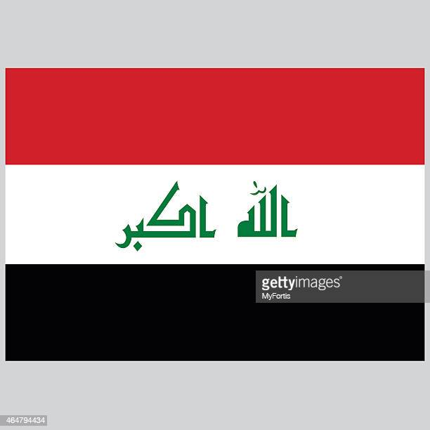 national flag of iraq - music style stock illustrations, clip art, cartoons, & icons