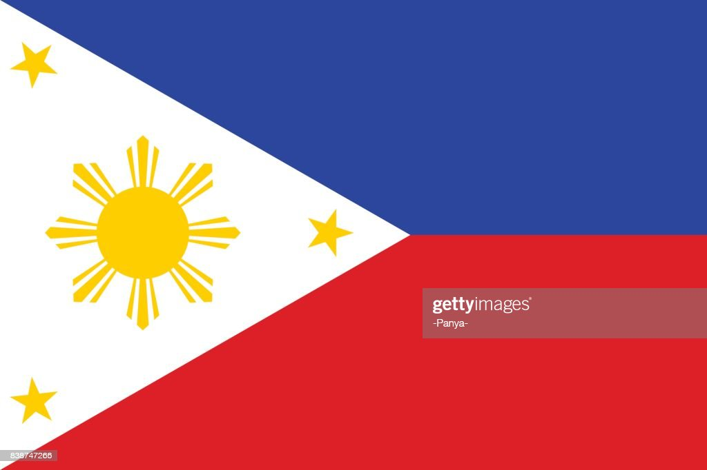 National flag of Philippines