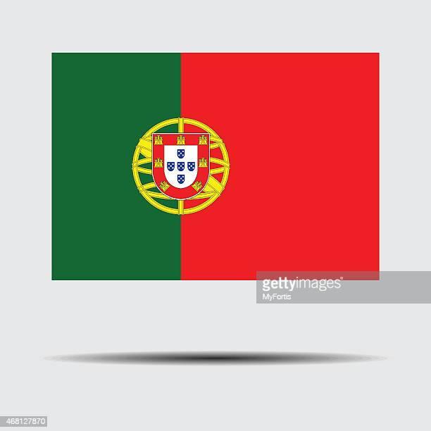 ilustrações, clipart, desenhos animados e ícones de bandeira nacional de portugal - portugal