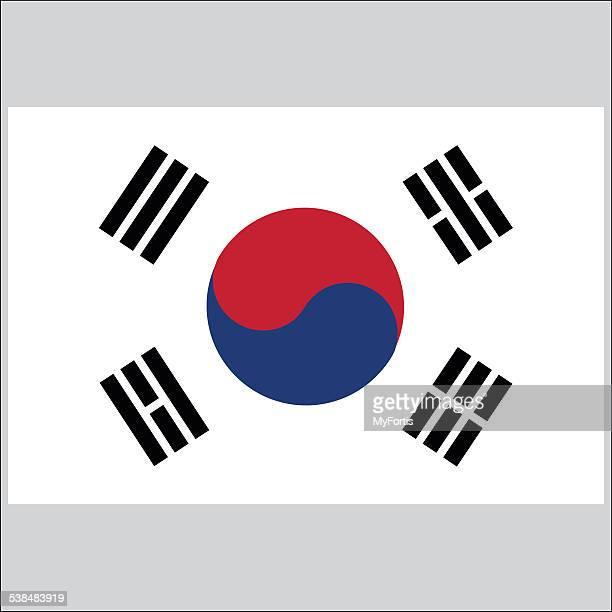 - Flagge von Südkorea