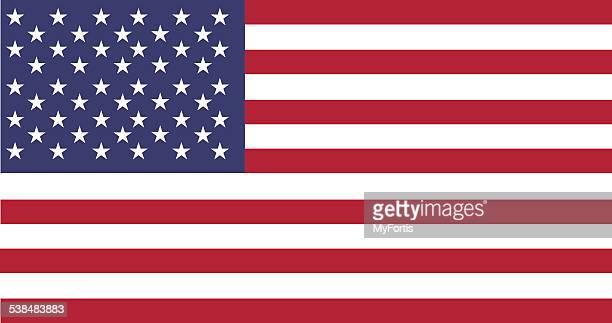 national flag of usa - geographical border stock illustrations