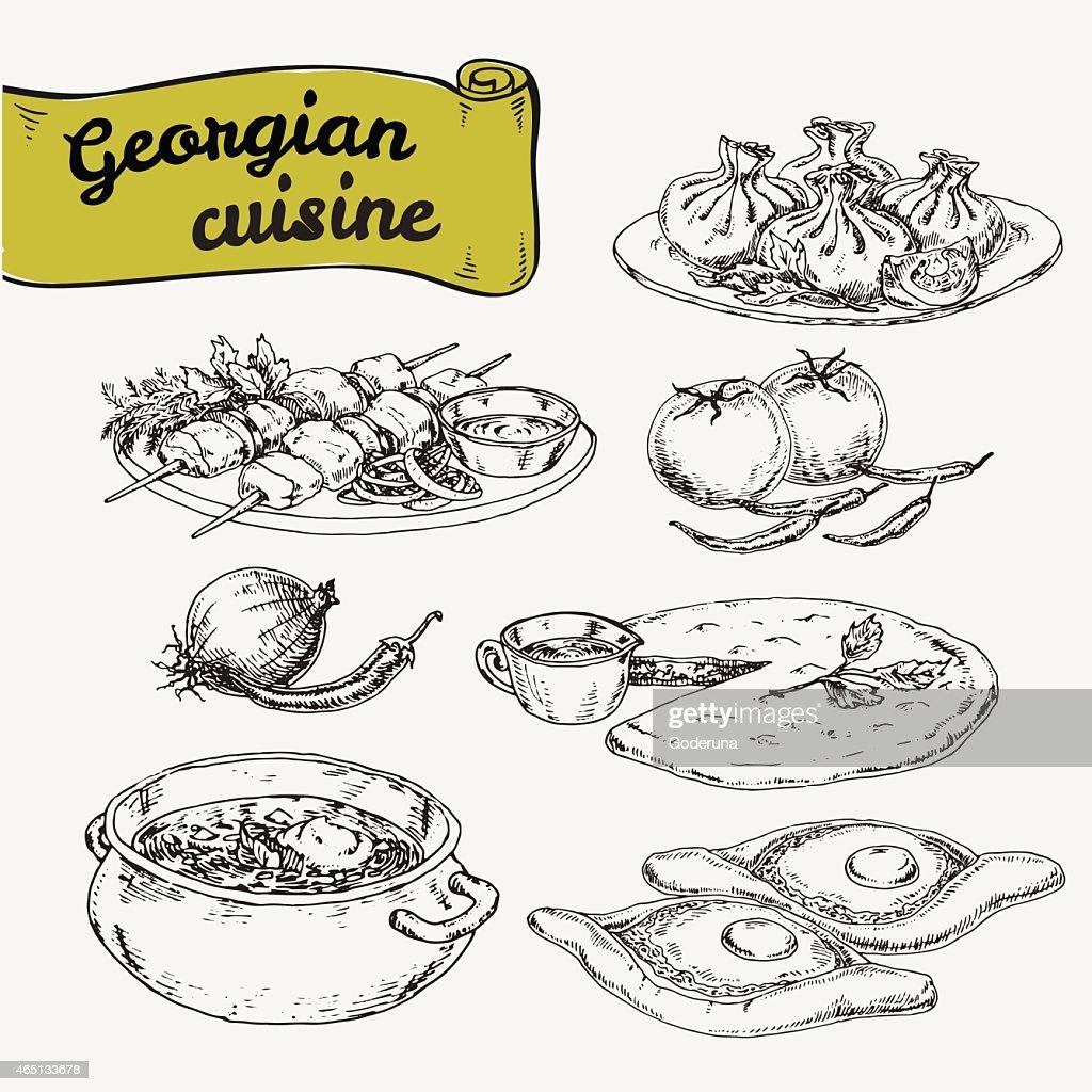 national georgian cuisine