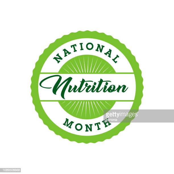 National Nutrition Month Label