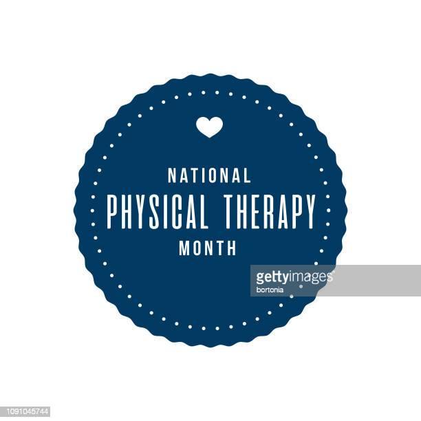 国民の物理的な療法の月 - カイロプラクター点のイラスト素材/クリップアート素材/マンガ素材/アイコン素材