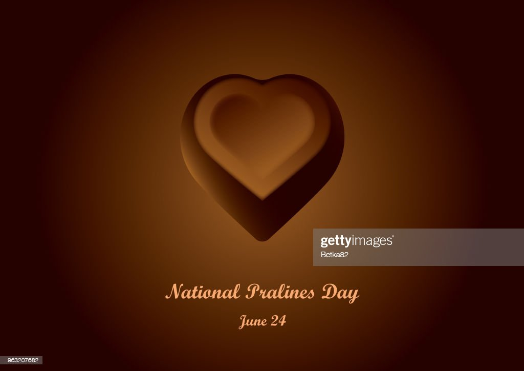 National Pralines Day vector