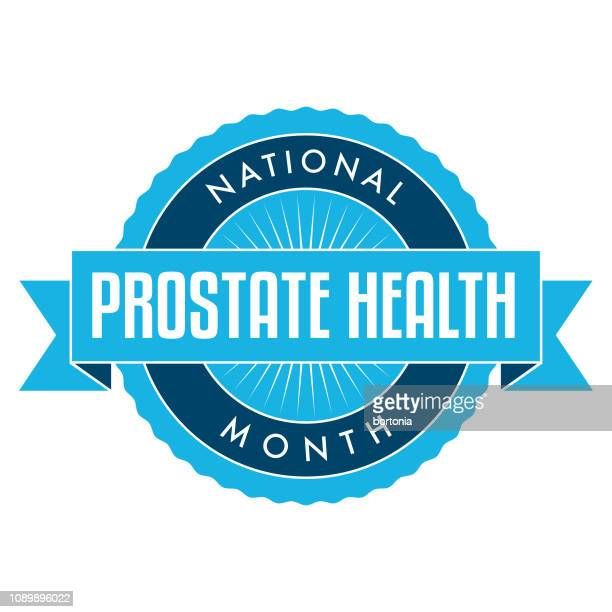 national prostate health month - prostate gland stock illustrations, clip art, cartoons, & icons
