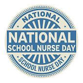 National School Nurse Day stamp