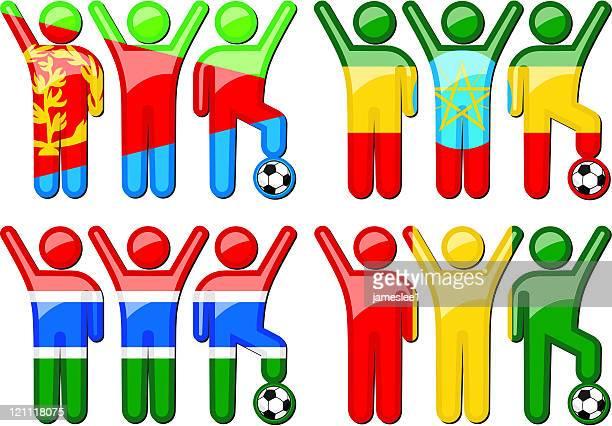 National Soccer Team Symbole