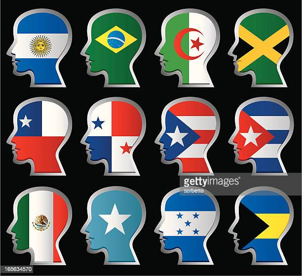 nationality flag - jamaican culture stock illustrations, clip art, cartoons, & icons