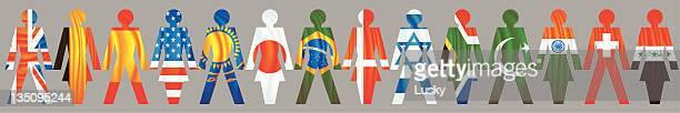 illustrations, cliparts, dessins animés et icônes de nations-unis - drapeau anglais