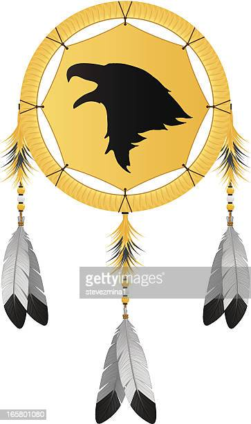 Native American Eagle Dream Catcher