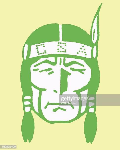 Native American in CSA Headband