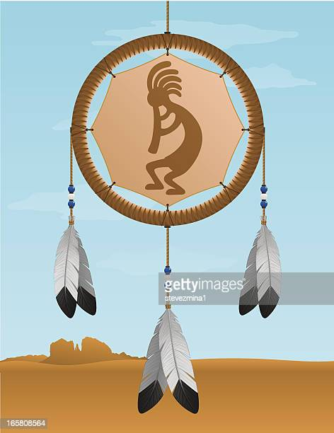 Native American Kokopelli Dream Catcher
