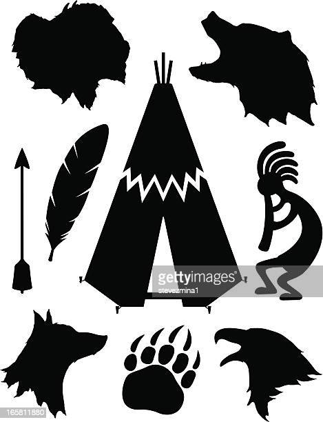 Native American Silhouettes