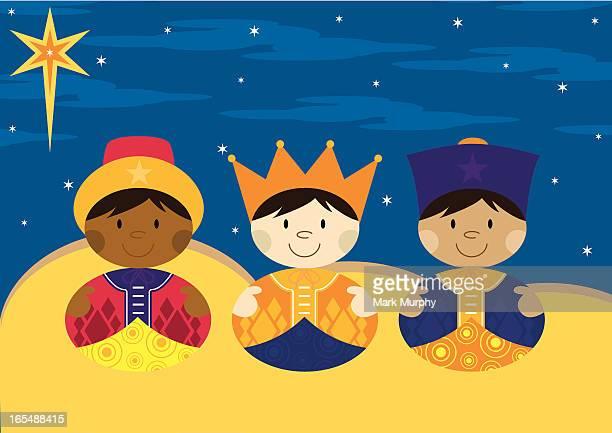 Nativity 3 Kings from Orient Far