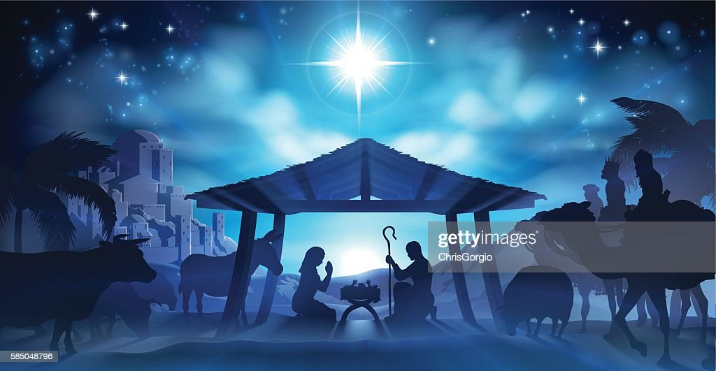 Nativity Christmas Scene