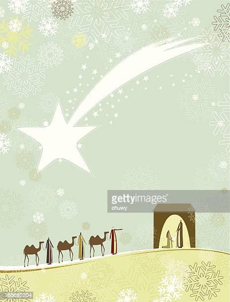 ilustraciones, imágenes clip art, dibujos animados e iconos de stock de natividad - los tres reyes magos