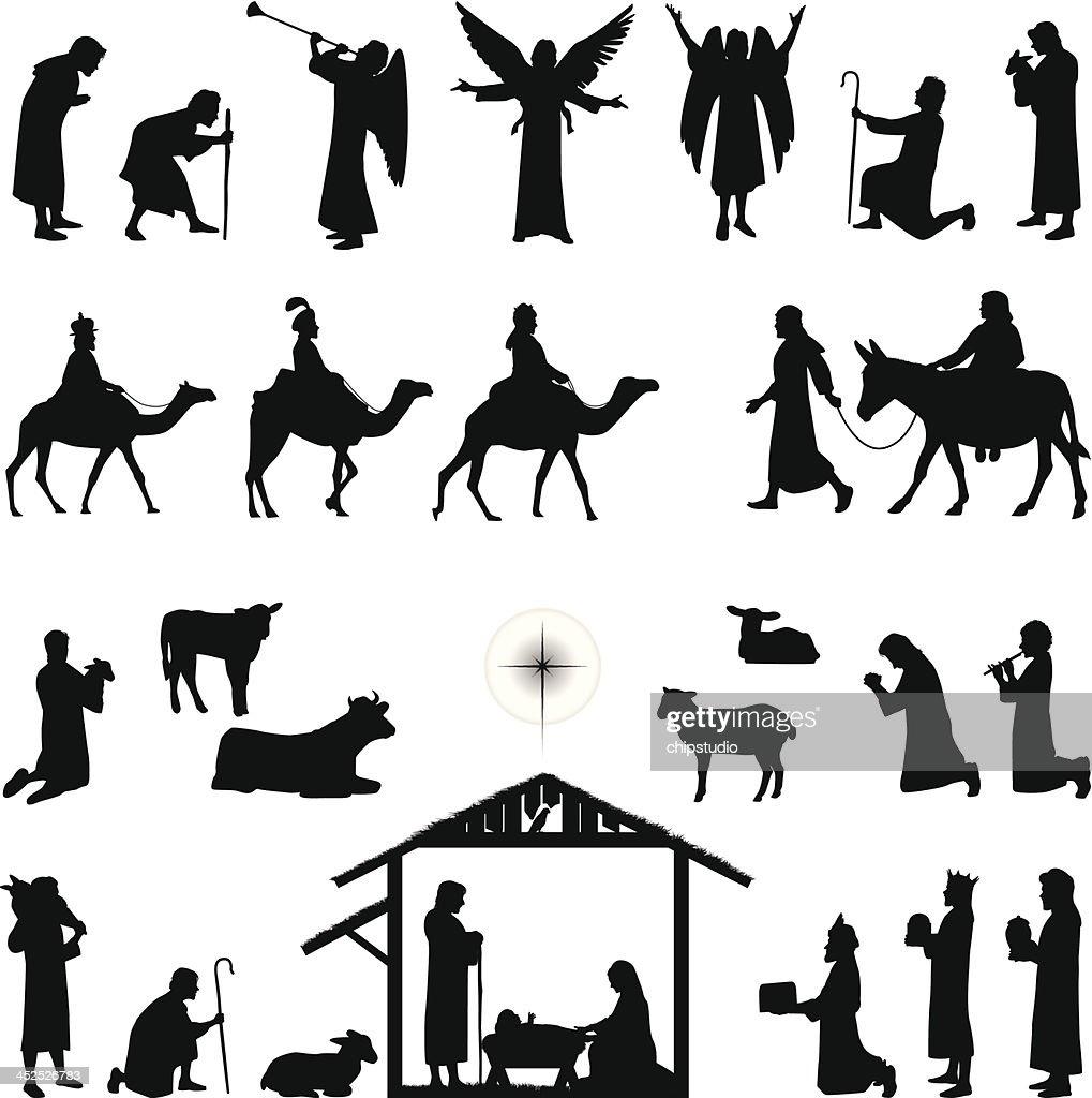 Nativity : stock illustration