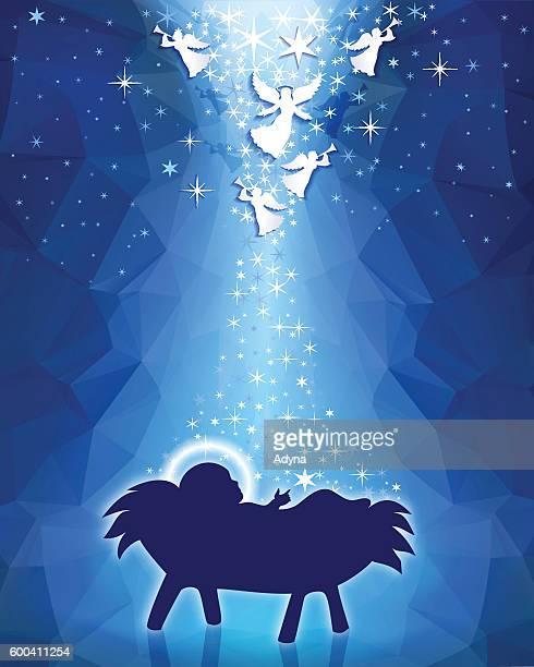 nativity - star of bethlehem religious symbol stock illustrations, clip art, cartoons, & icons