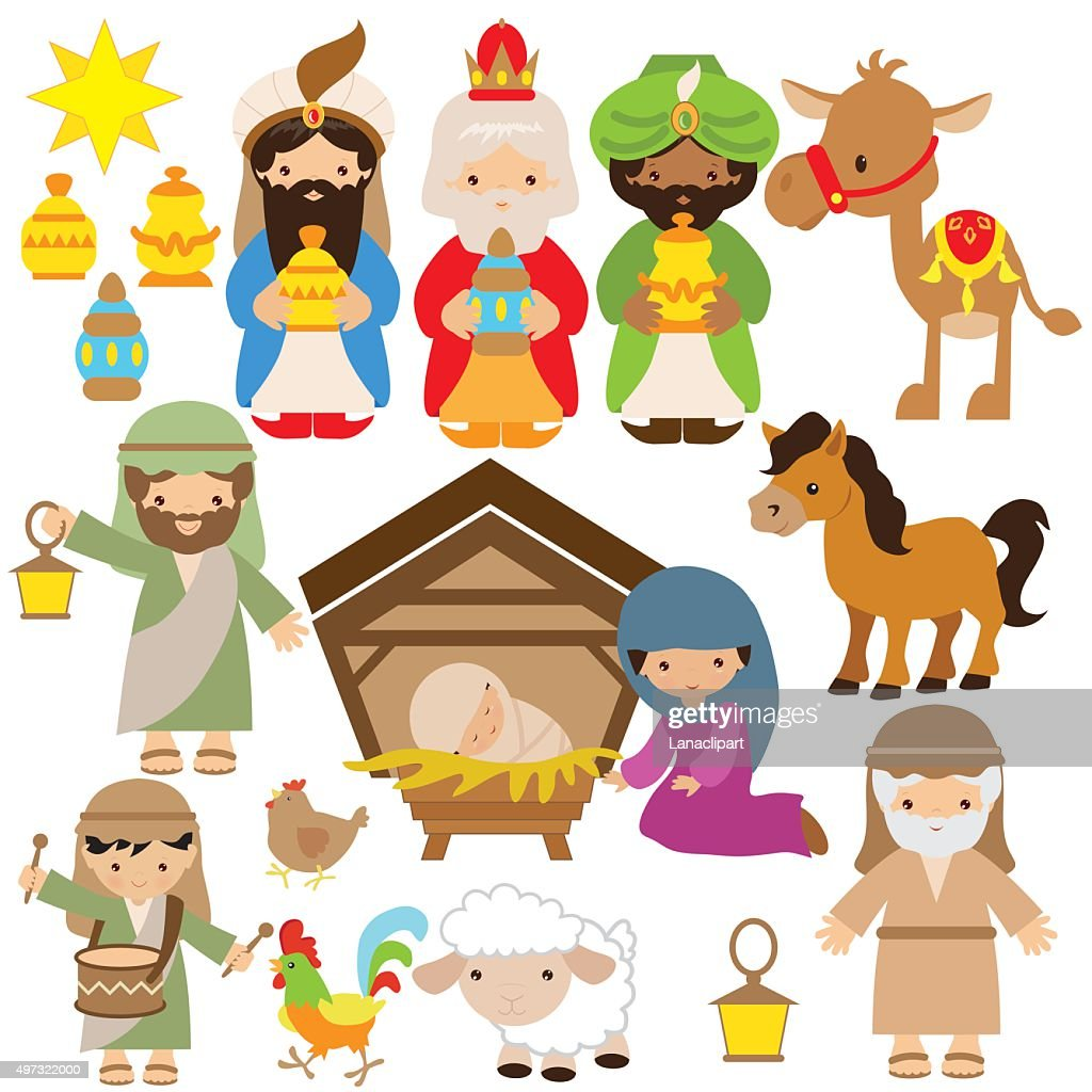 Nativity vector illustration