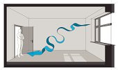 natural ventilation diagram