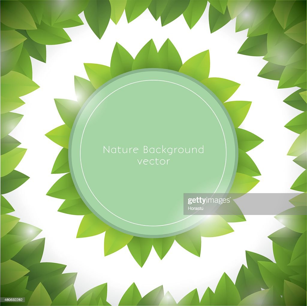Nature background : Vectorkunst