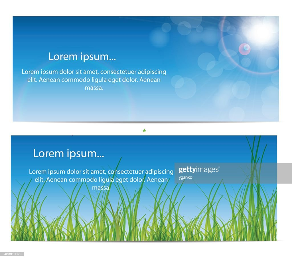Nature Business Card Vector Illustration Vector Art   Getty Images