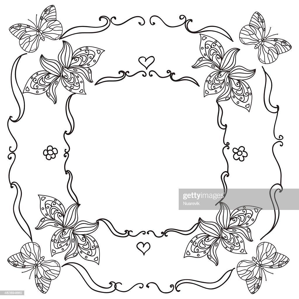 Nature Frame mandala