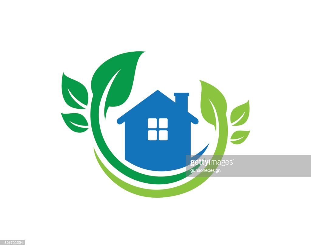 Nature House Symbol Template Design Vector, Emblem, Design Concept, Creative Symbol, Icon