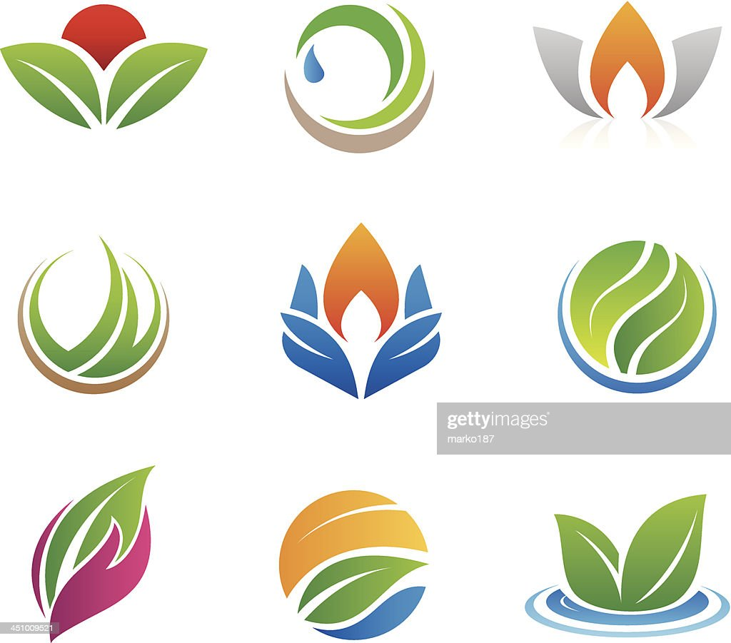 Nature icons and logos