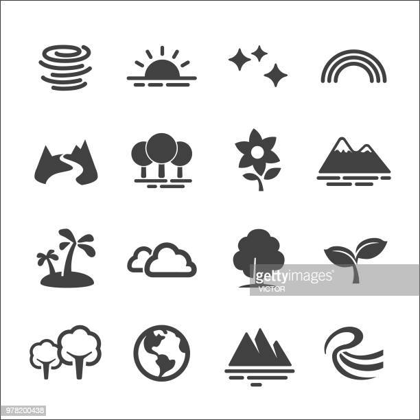 Natur Icons Set - Acme-Serie