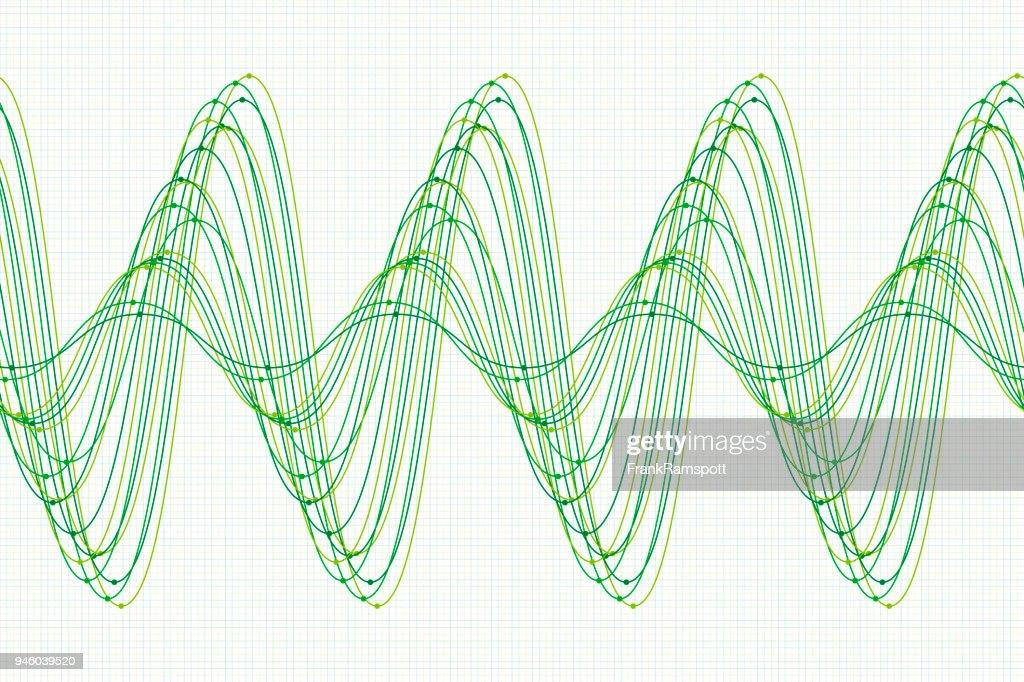 Nature sine wave line pattern horizontal vector art getty images nature sine wave line pattern horizontal vector art ccuart Images