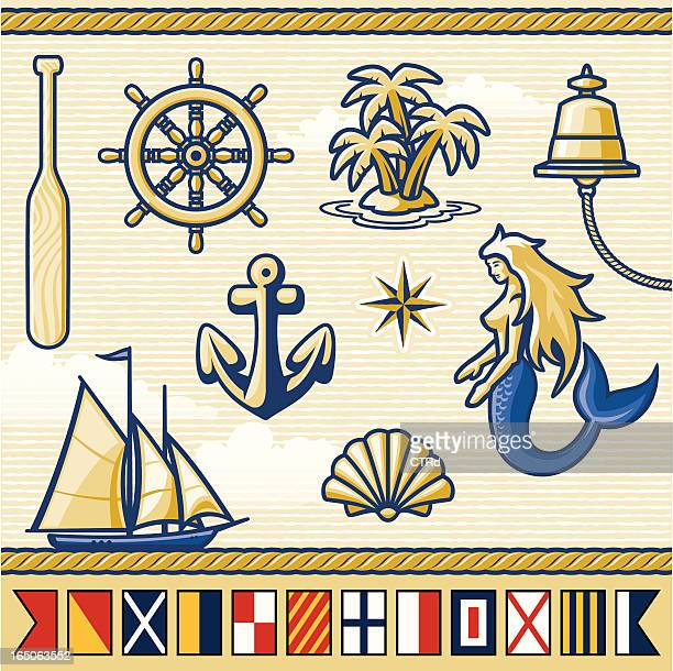 Nautical Elements & Flags Series