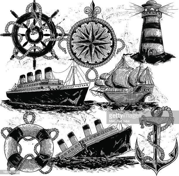 Illustrations Et Dessins Animés De Titanic