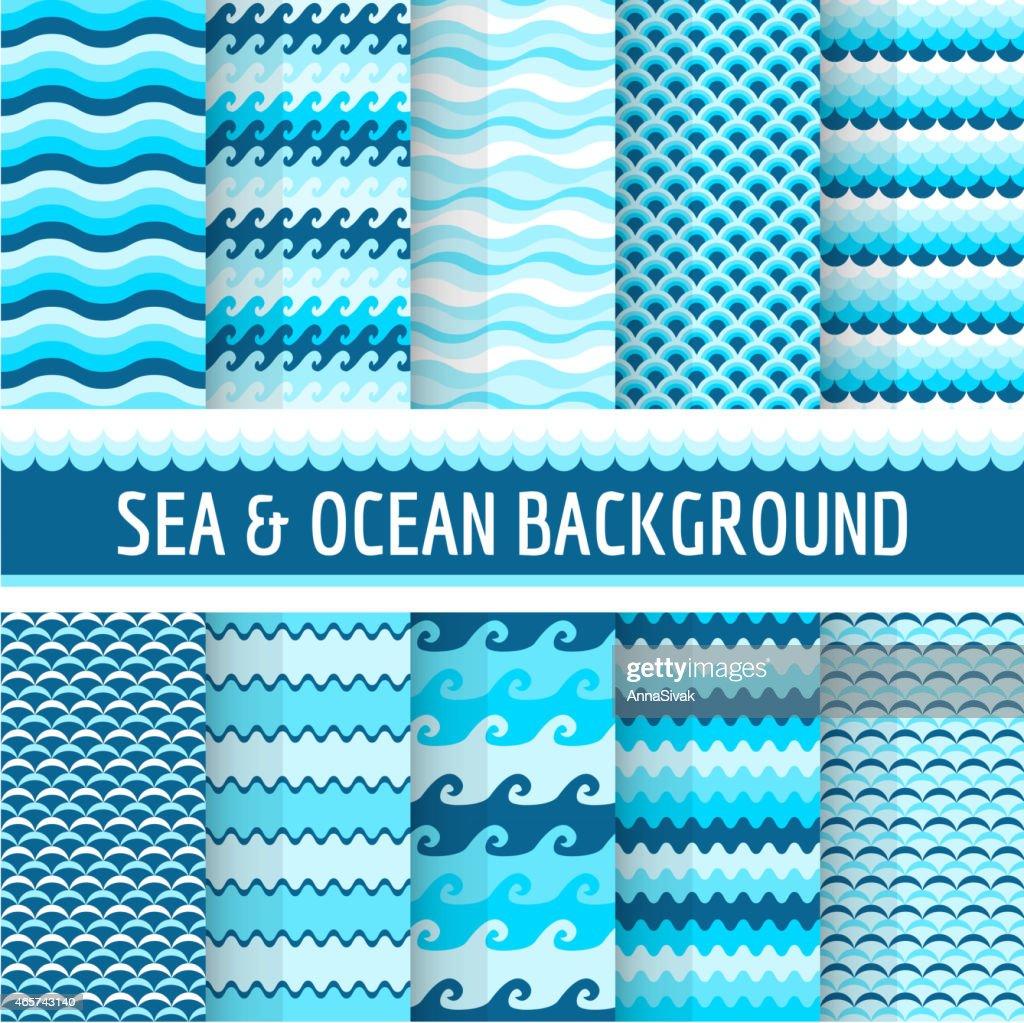 10 Nautical Sea Patterns