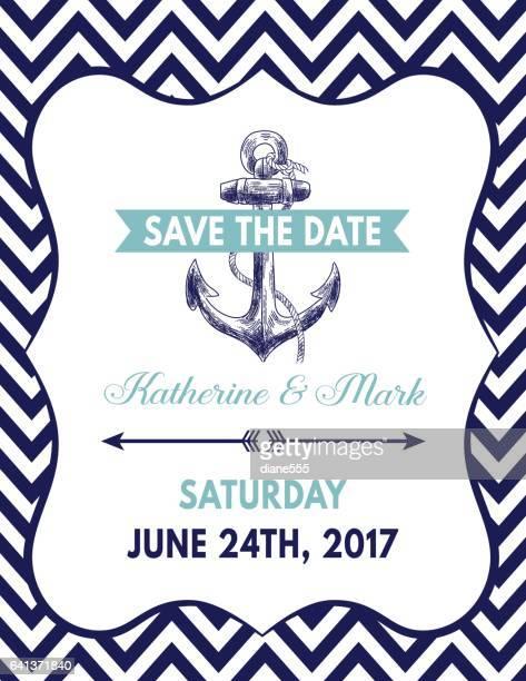 航海をテーマ パーティー招待状のテンプレート - nautical vessel点のイラスト素材/クリップアート素材/マンガ素材/アイコン素材