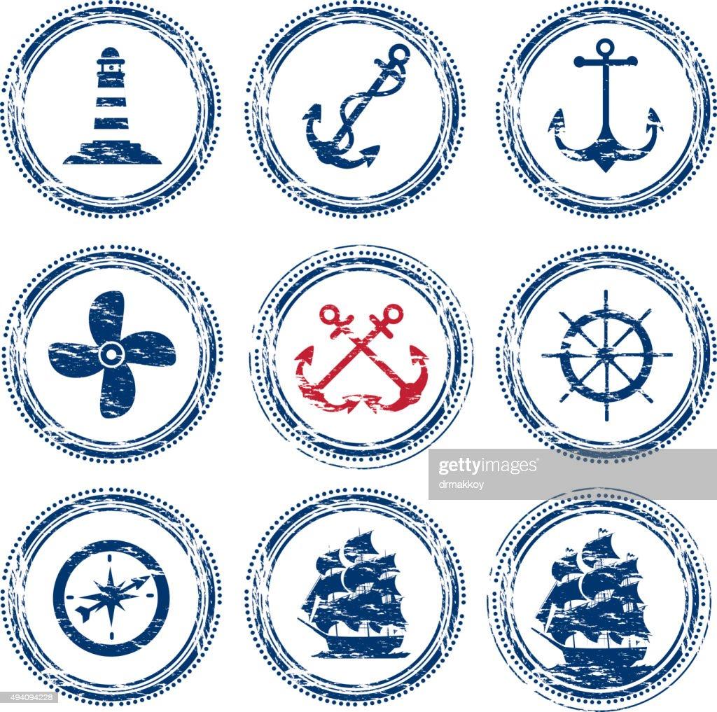 Nautical Vessel Symbols