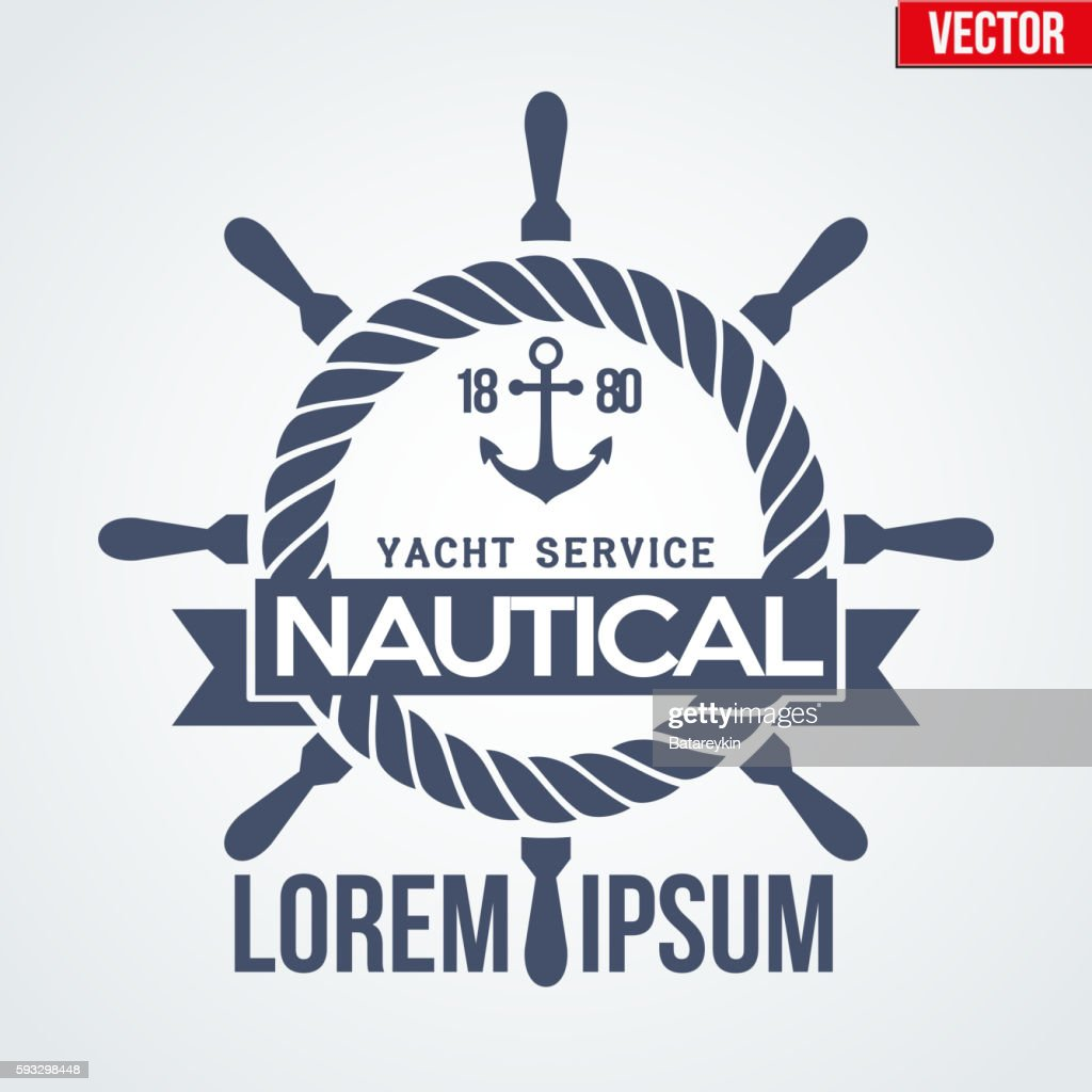 Nautical Yacht logotype