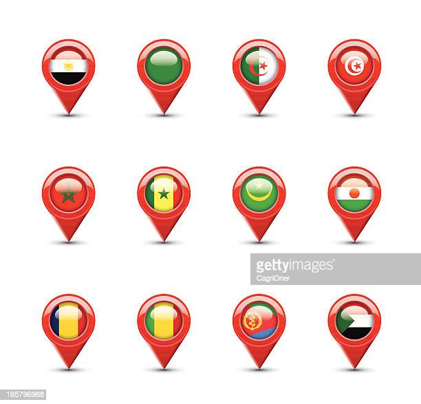 Navigation Flags: North Africa