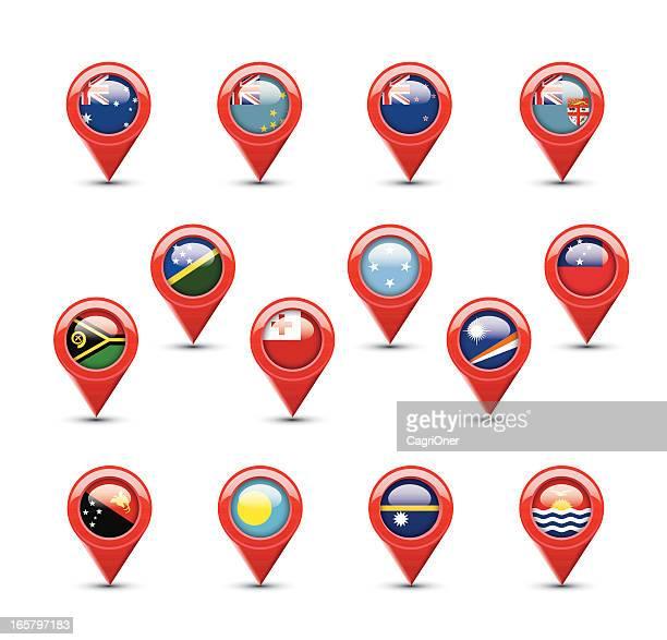 Navigation Flags: Oceania