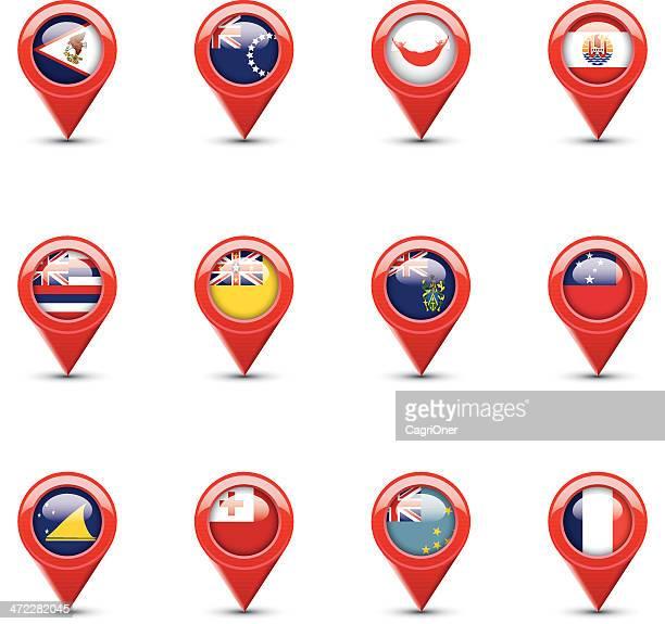 Navigation Flags: Polynesia