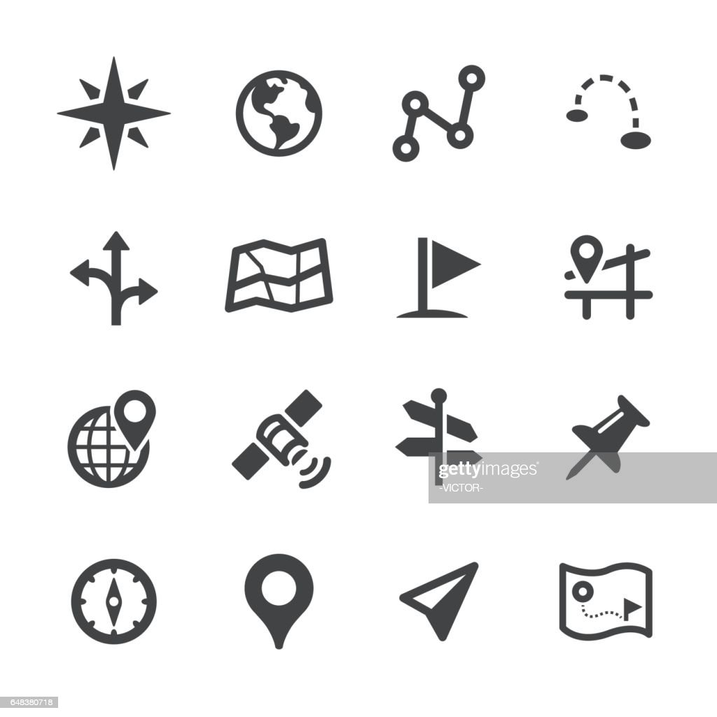 Navigation Icons - Acme Series