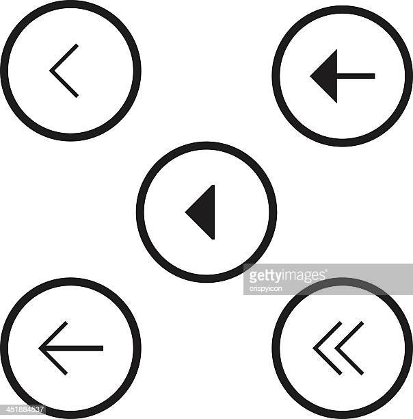 navigation icons - former stock illustrations, clip art, cartoons, & icons