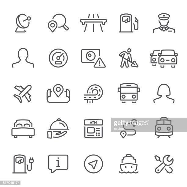 Navigering ikoner